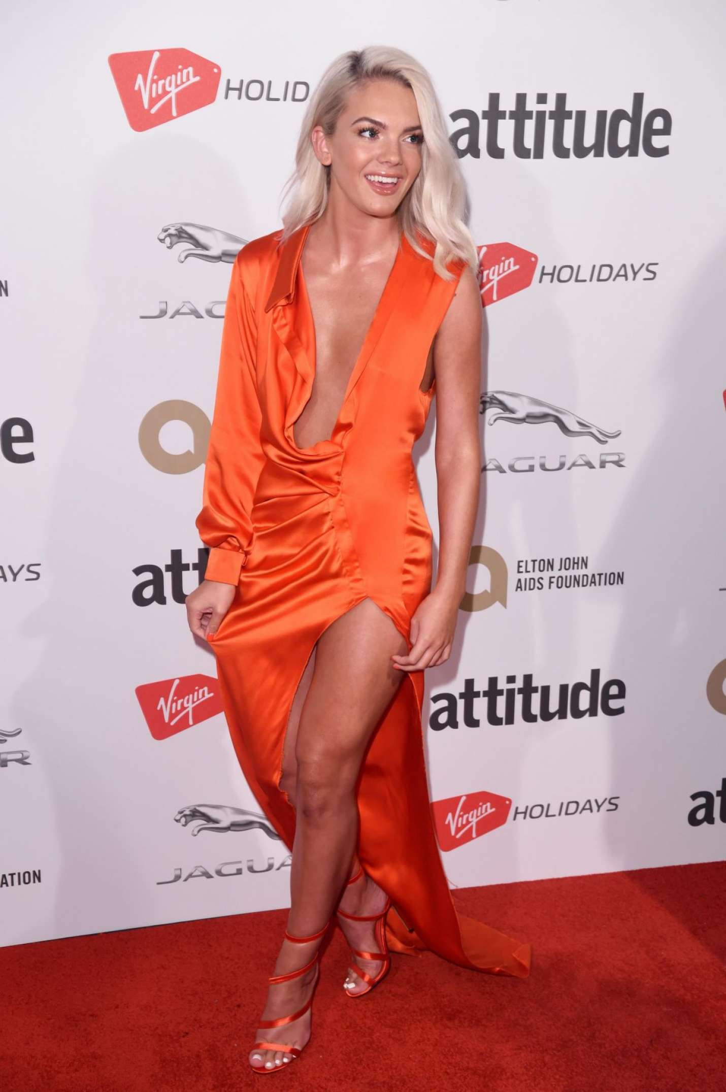 Louisa Johnson Attitude Magazine Pride Awards 2017 In