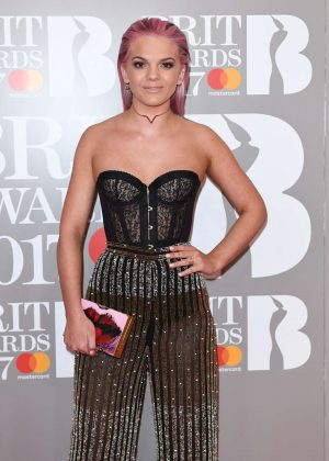 Louisa Johnson - BRIT Awards 2017 in London