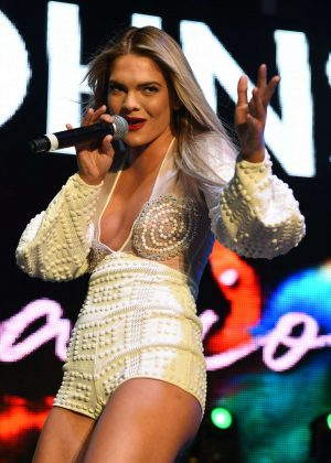 Louisa Johnson - Performing at Birmingham Pride 2017 in Birmingham