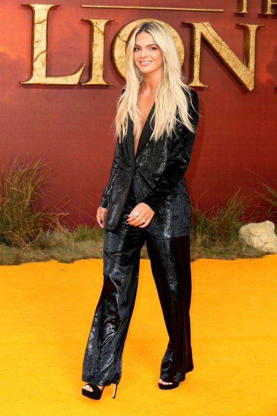 Louisa Johnson - 'The Lion King' Premiere in London