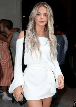 Louisa Johnson - Warner Music and GQ Summer Party in London