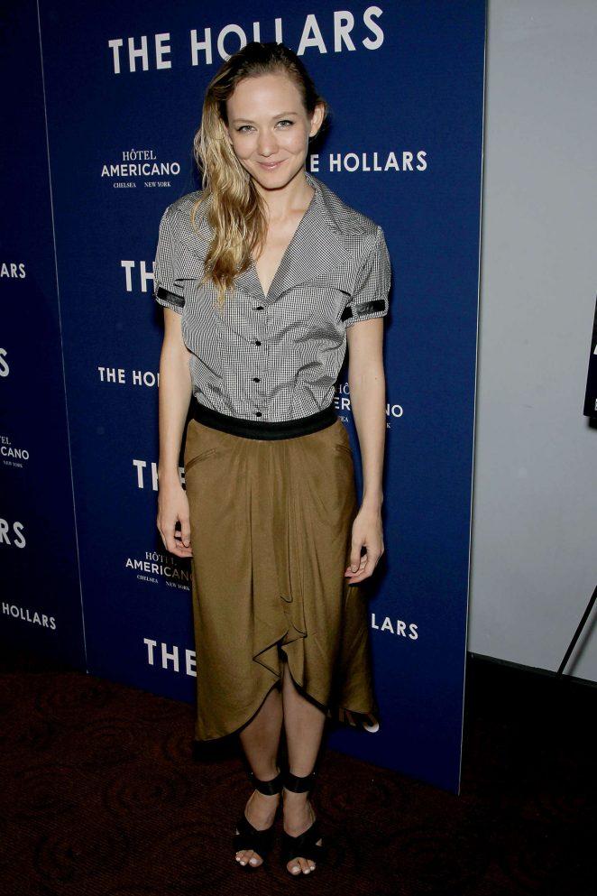 Louisa Krause - 'The Hollars' Screening in New York