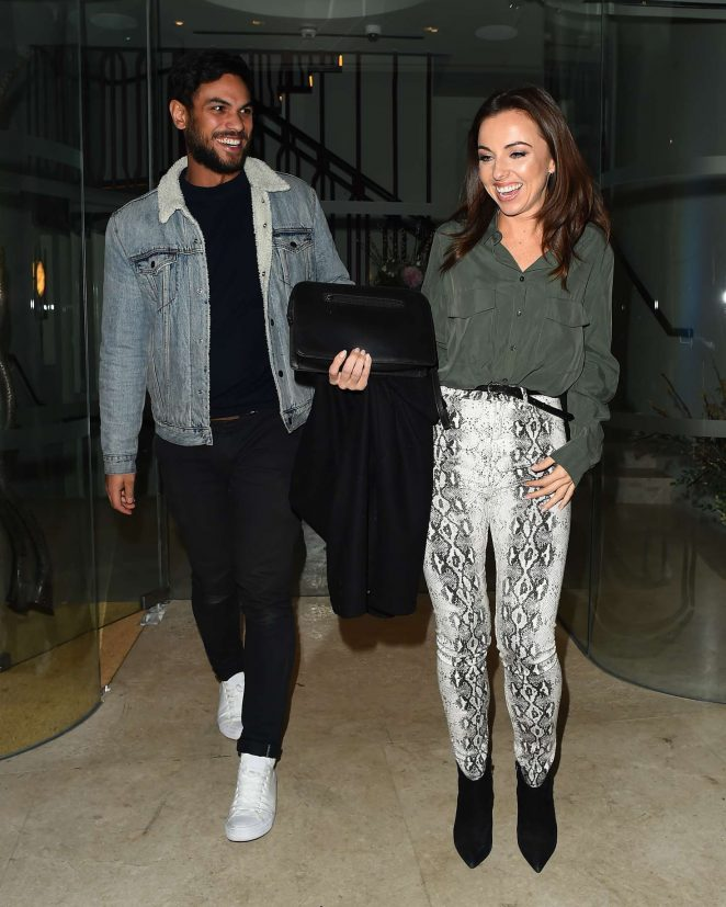 Louisa Lytton – Night Out with Boyfriend Benny in Mayfair