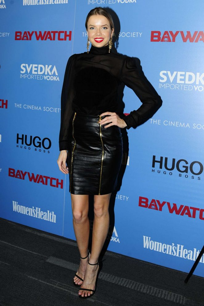 Louisa Warwick - 'Baywatch' Screening in New York