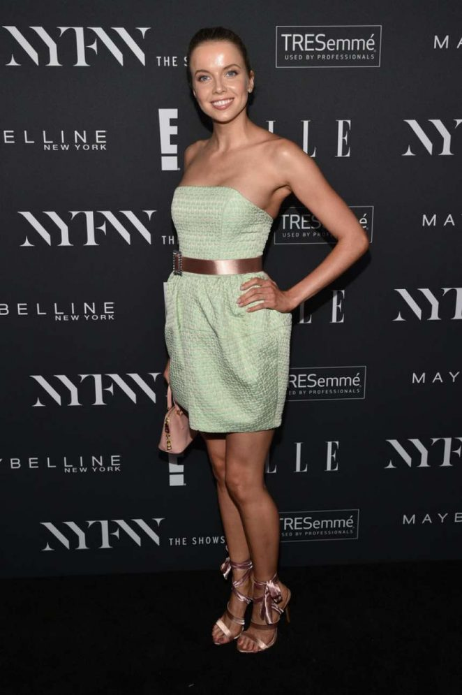 Louisa Warwick – E!, ELLE & IMG celebrate the Kick-Off To NYFW: The Shows in NYC