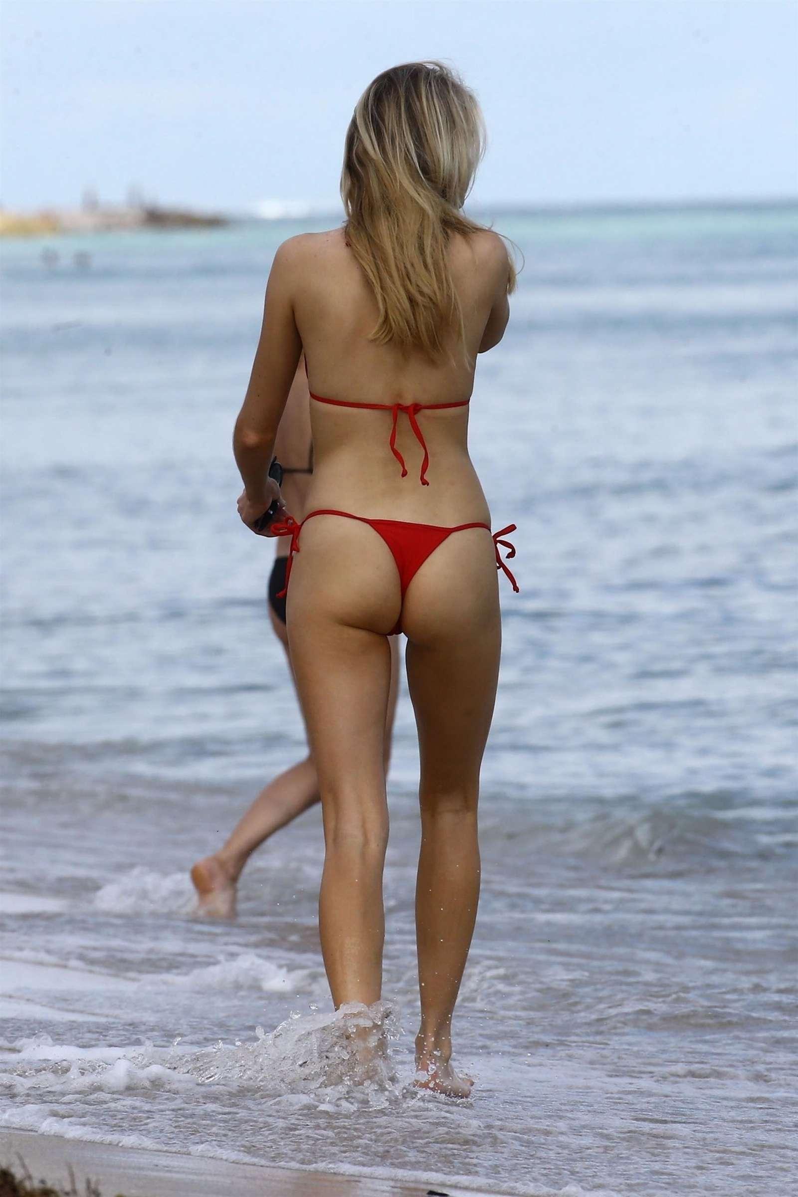 Louisa Warwick 2017 : Louisa Warwick in Red Bikini 2017 -17