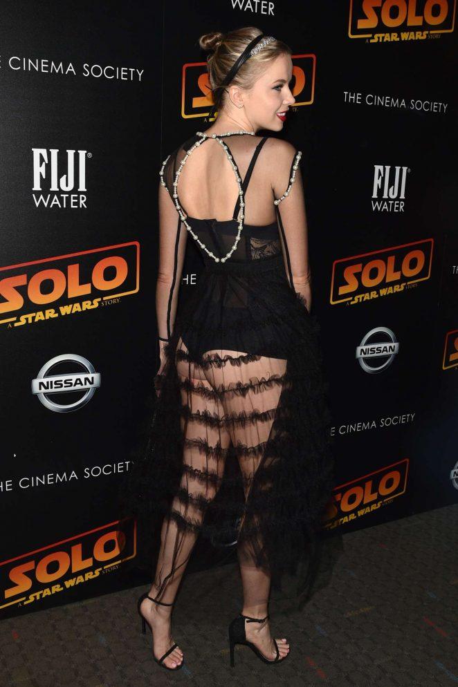 Louisa Warwick: Solo: A Star Wars Story Premiere -04