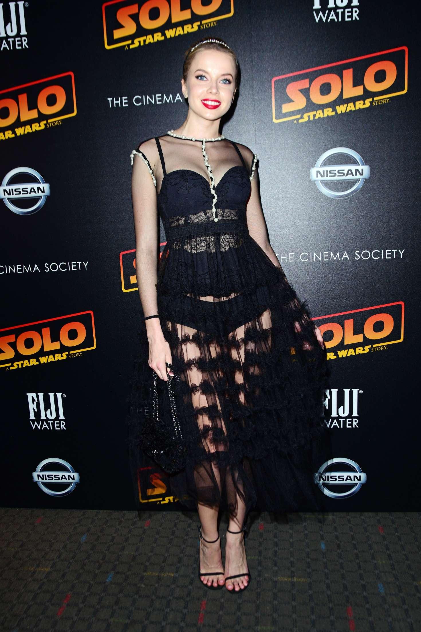 Louisa Warwick - 'Solo: A Star Wars Story' Premiere in New York