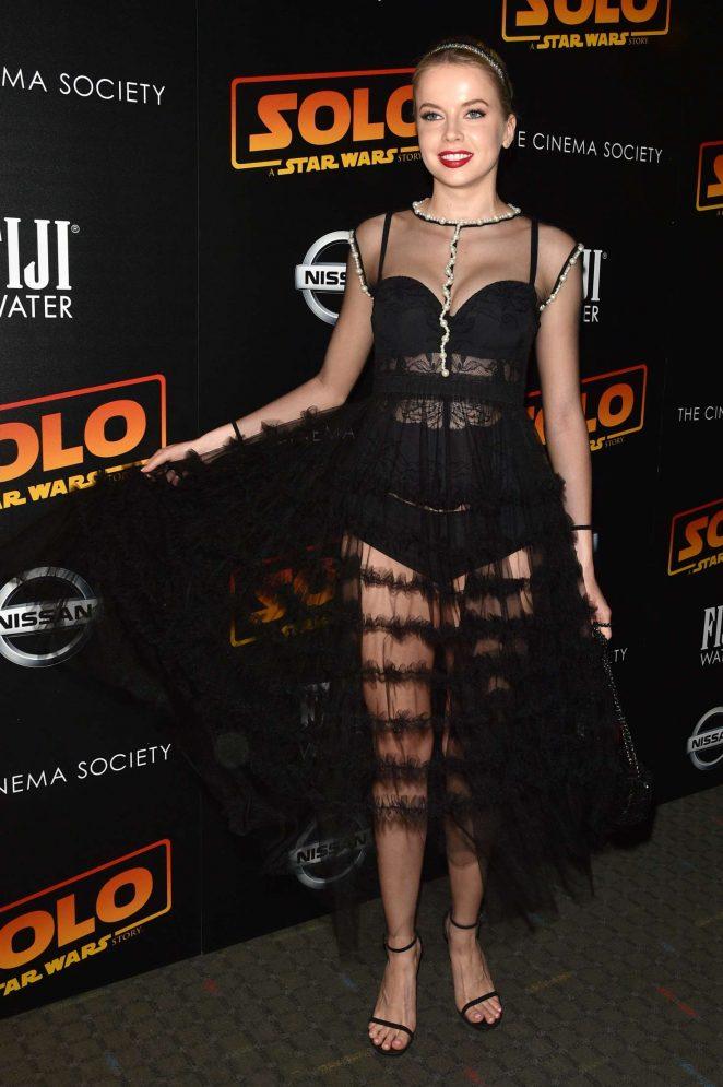 Louisa Warwick: Solo: A Star Wars Story Premiere -09
