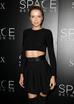 Louisa Warwick - 'The Space Between Us' Premiere in New York