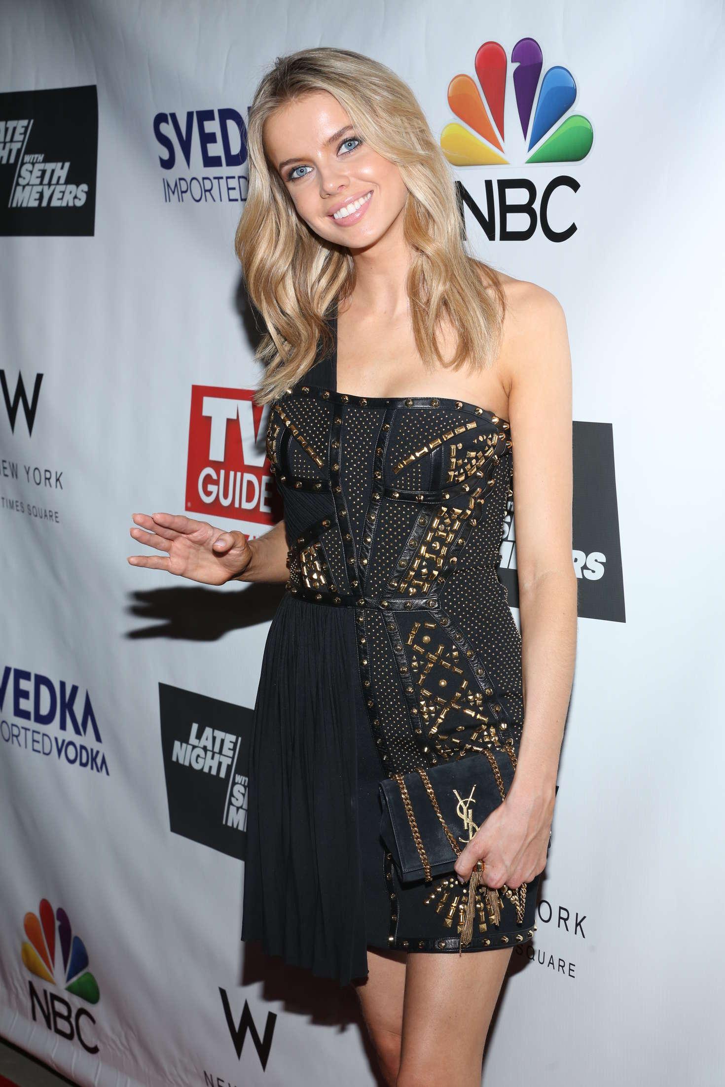 Louisa Warwick - TV Guide Magazine Celebrates Seth Meyers in New York