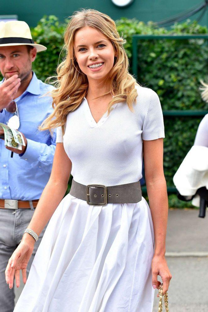 Louisa Warwick - Wimbledon Tennis Championships in London