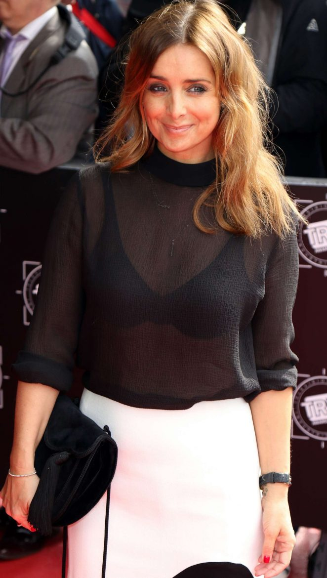 Louise Redknapp - 2017 TRIC Awards in London