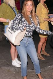 Louise Redknapp - Arrives at Pimm's summer party in London