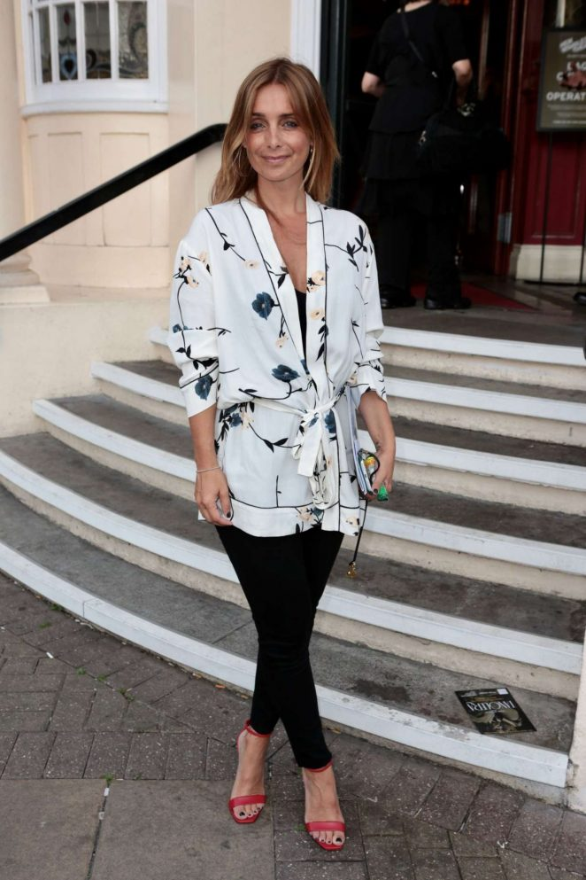 Louise Redknapp at New Wimbledon Theatre in London -03