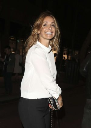 Louise Redknapp - Evita Press Night in London