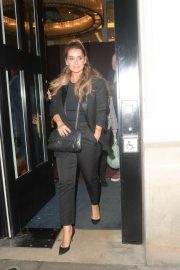 Louise Redknapp - Exits Strictly It Takes Two TV show in London