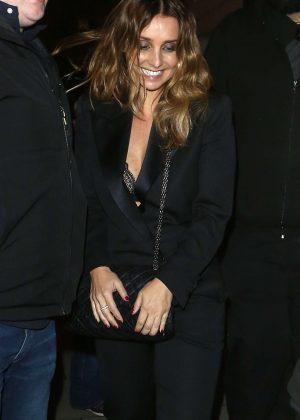 Louise Redknapp - Leaves her gig at Scala in London