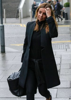 Louise Redknapp - Leaves hotel in Birmingham