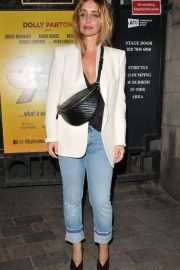 Louise Redknapp - Leaving the Savoy Theatre in London