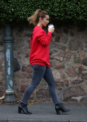 louise redknapp out and about in malvern � gotceleb