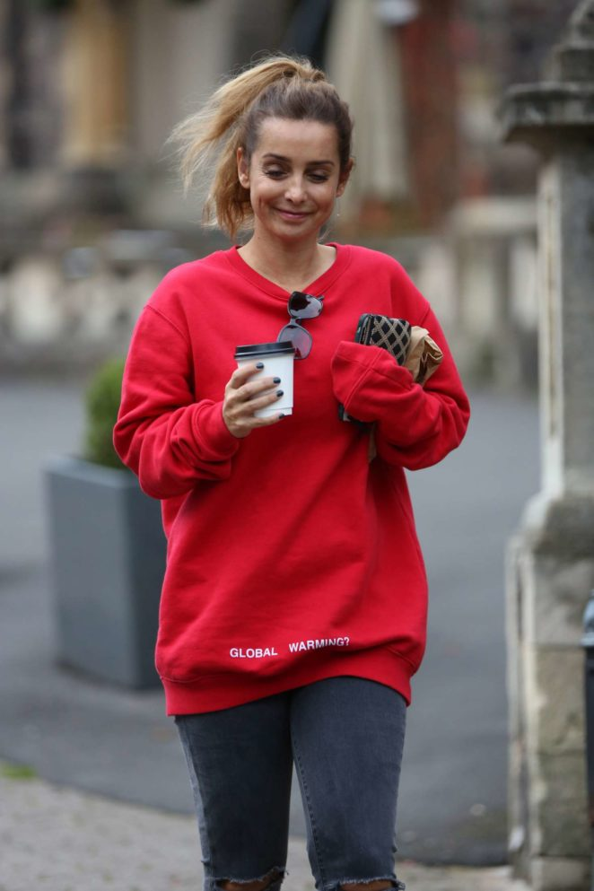 Louise Redknapp out and about in Malvern