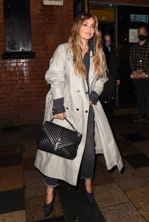Louise Redknapp - Seen Leaving Clapham Grand in London