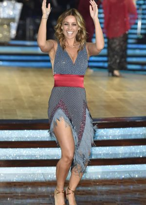Louise Redknapp - Strictly Come Dancing Photocall in Birmingham