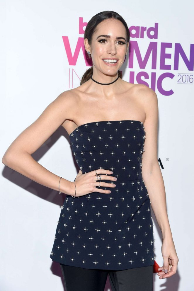 Louise Roe – 2016 Billboard Women in Music in NYC