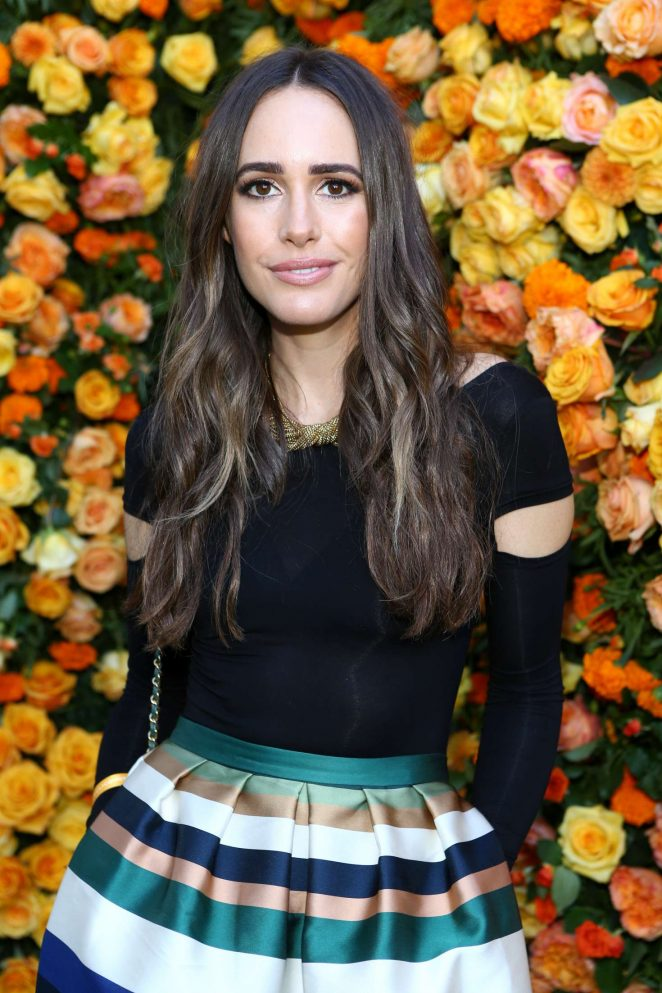 Louise Roe – 2016 Veuve Clicquot Polo Classic in Pacific Palisades
