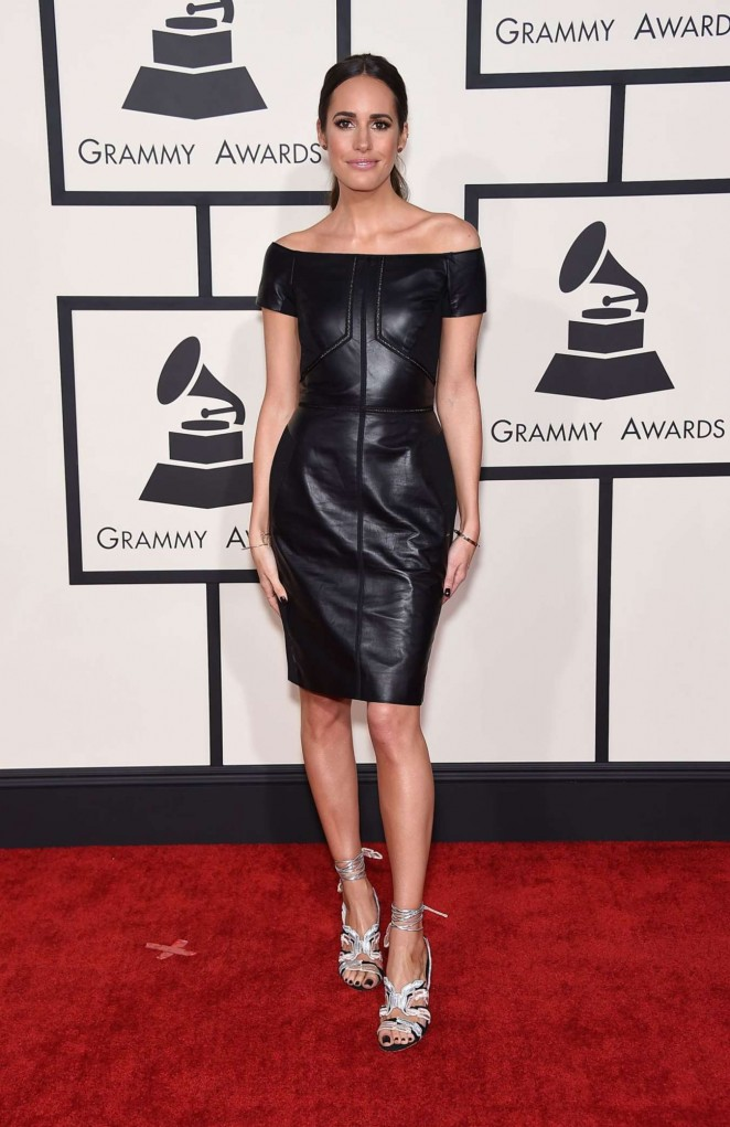 Louise Roe – 57th Annual GRAMMY Awards in LA