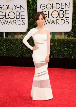 Louise Roe - 2015 Golden Globe Awards in Beverly Hills