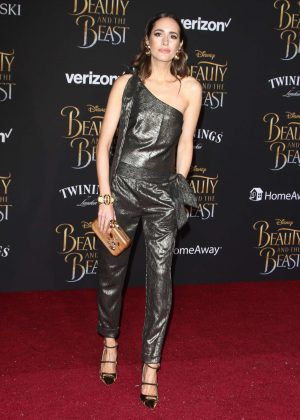 Louise Roe - 'Beauty and the Beast' Premiere in Los Angeles