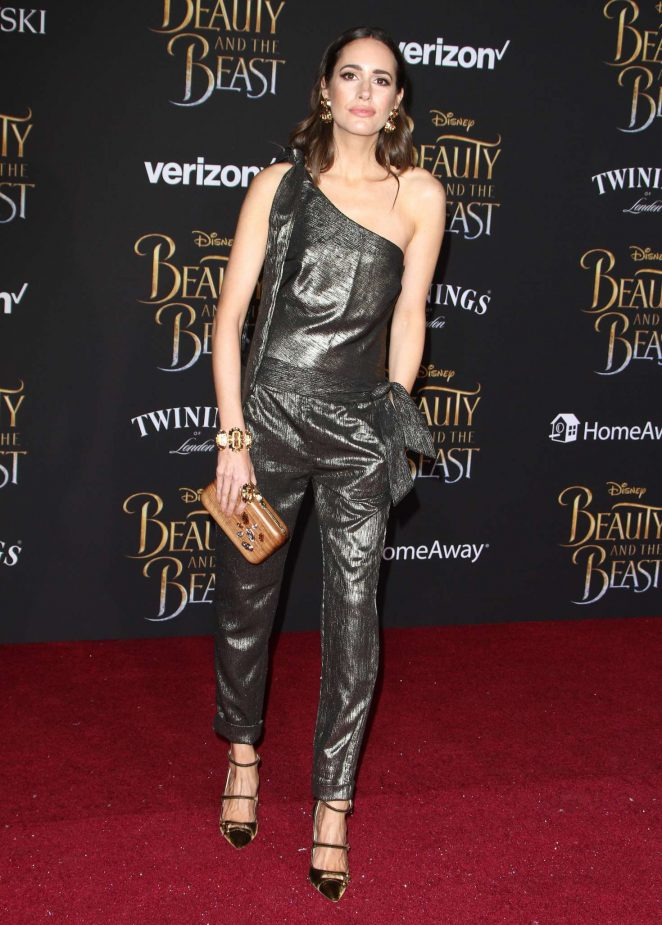 Louise Roe – 'Beauty and the Beast' Premiere in Los Angeles