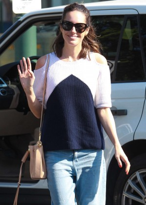 Louise Roe - Leaving Bristol Farms in Beverly Hills