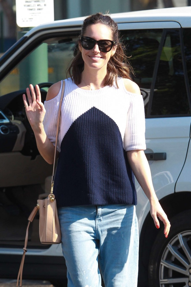 Louise Roe – Leaving Bristol Farms in Beverly Hills