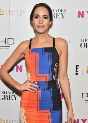 Louise Roe - NY Fashion Week Kickoff With Fifty Shades Of Fashion Event in NY