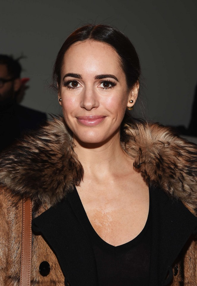 Louise Roe – Ralph Lauren Fashion Show in NYC