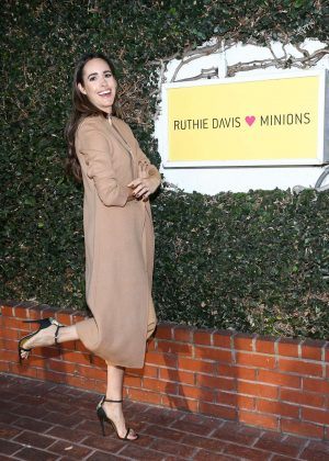 Louise Roe - Ruthie Davis X Minions Capsule Collection Launch Party in LA