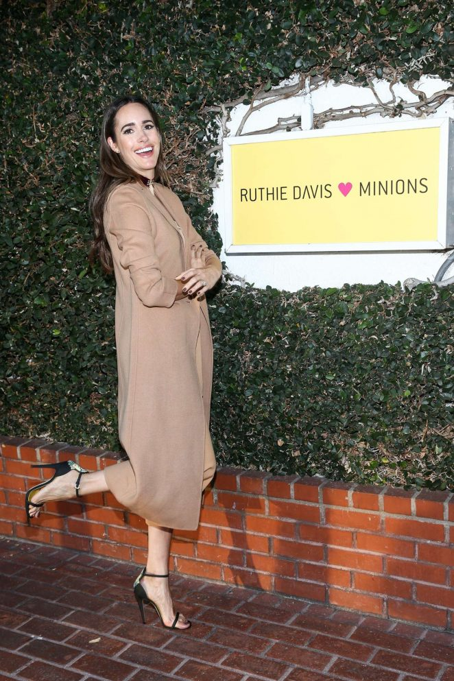 Louise Roe – Ruthie Davis X Minions Capsule Collection Launch Party in LA