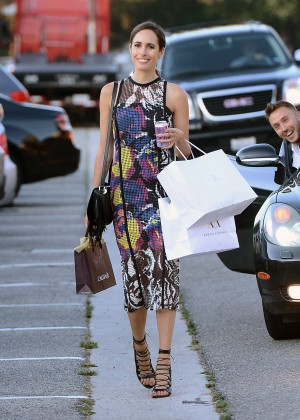 Louise Roe - Shopping in West Hollywood