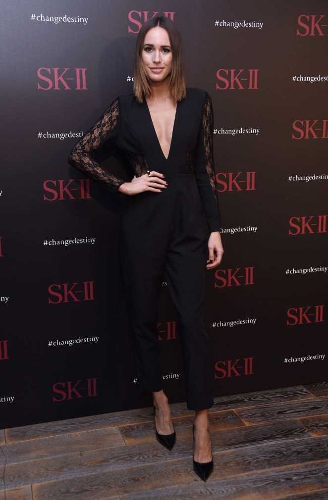 Louise Roe – SK-II ChangeDestiny Forum-Photocall in Los Angeles