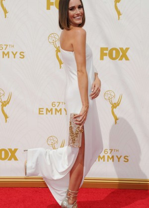 Louise Roe - 2015 Primetime Emmy Awards in LA