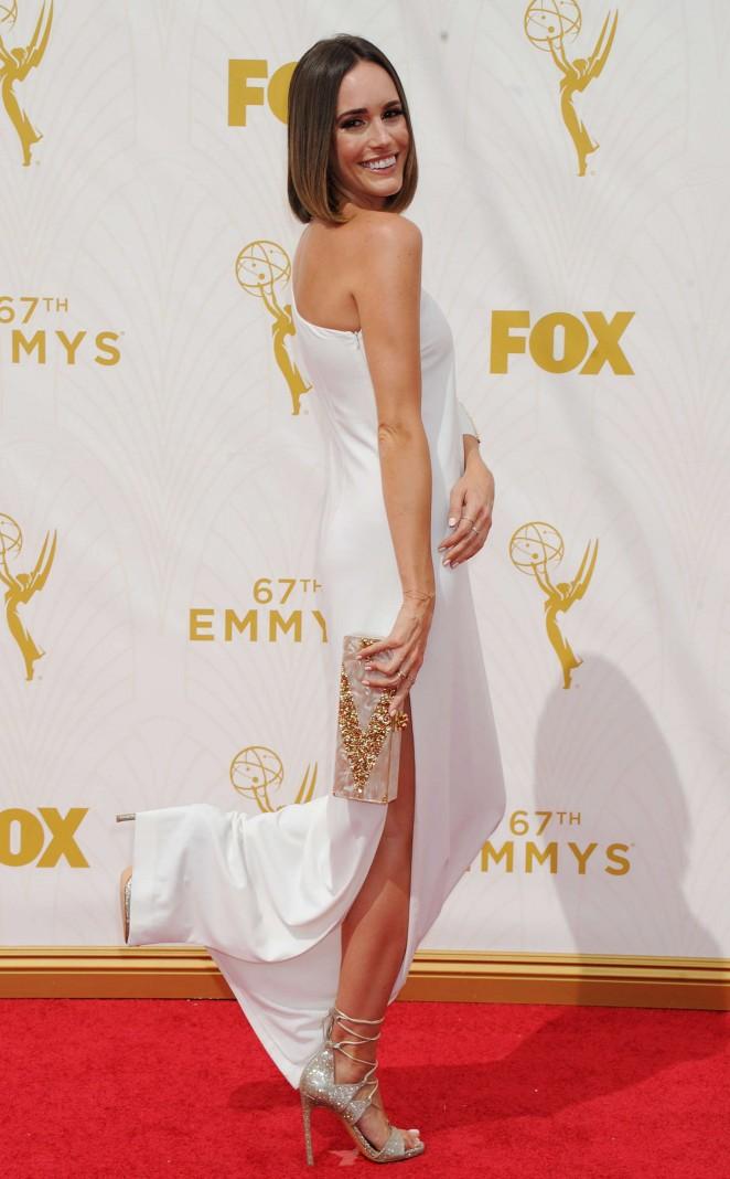 Louise Roe - 2015 Primetime Emmy Awards in LA