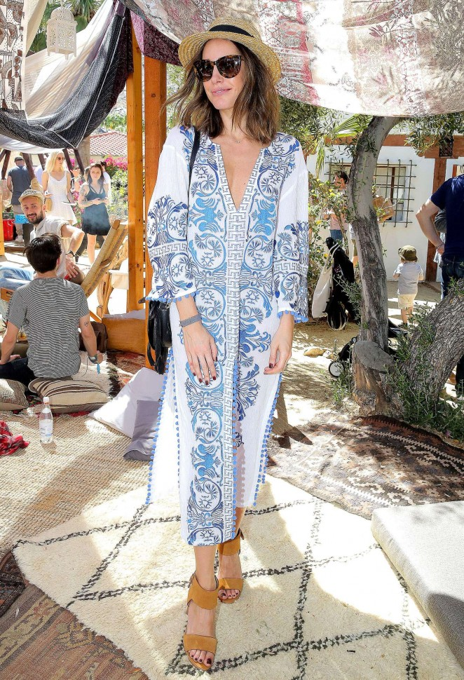 Louise Roe – The Retreat at Korakia Pensione Party For Coachella 2016 in Palm Springs