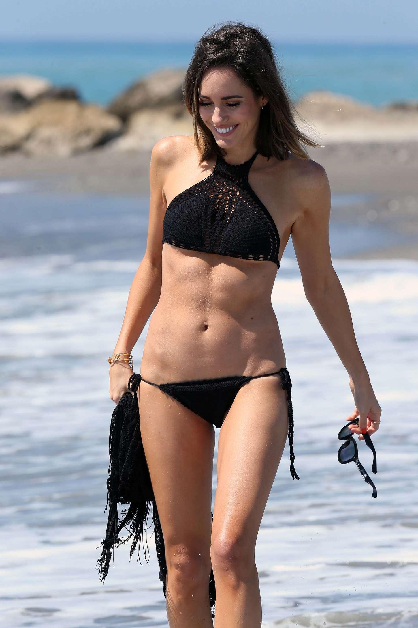Louise Roe 2015 : Louise Roe in Black Bikini -22