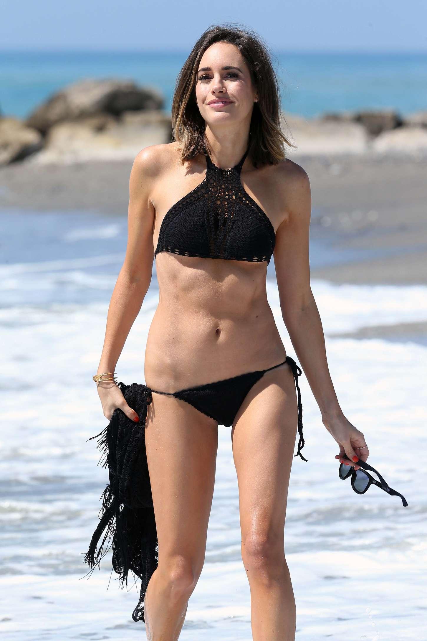 Louise Roe 2015 : Louise Roe in Black Bikini -24