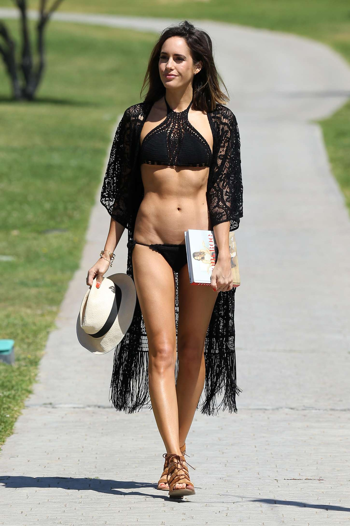 Louise Roe 2015 : Louise Roe in Black Bikini -41