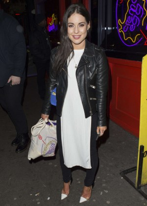 Louise Thompson - Creme Egg Cafe Launch Night in Soho