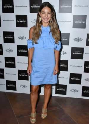Louise Thompson - Nespresso Launch Party in London